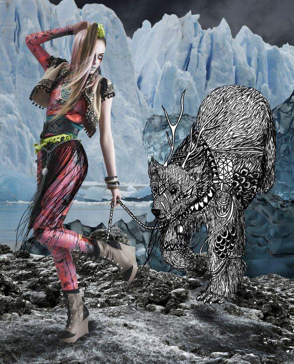 mix media: Harpa Einarsdottir, Ziska Harpa, Inspiration Photography, Mixed Media, Inspiration Fashion Shooting, Fashion Photography, Design Womensfashion, Fashion Illustrations