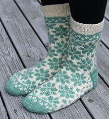 Blomsterhage sokken