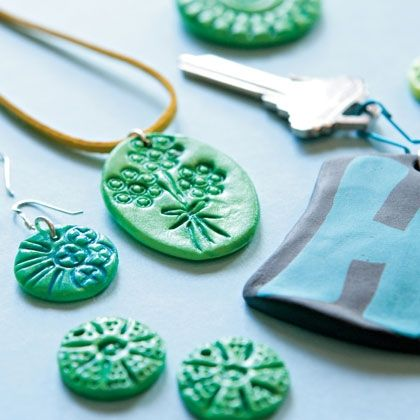 Firefly Pluffy Clay Necklaces To Make Easy Crafts For KidsFun