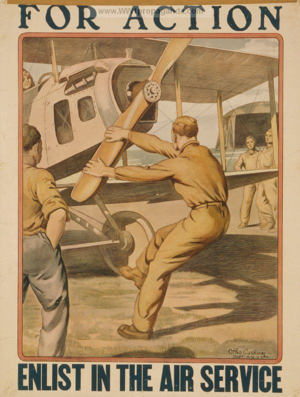 Examples of Propaganda from WW1 | WW1 Aviation Posters Page 6