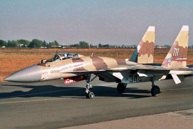 The legend: 711 !!! #sukhoi #su37 #terminator #flanker #aviation #military #fighterjet