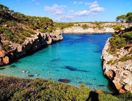 PETITS PARADIS: Calo d'Es Moro (Santanyi, Majorque)