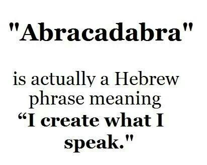 Image result for abracadabra