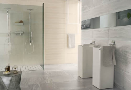 19 best images about piastrelle bagno effetto marmo on - Rivestimento bagno effetto marmo ...