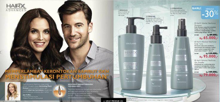 Produk Oriflame Untuk Rambut Rontok