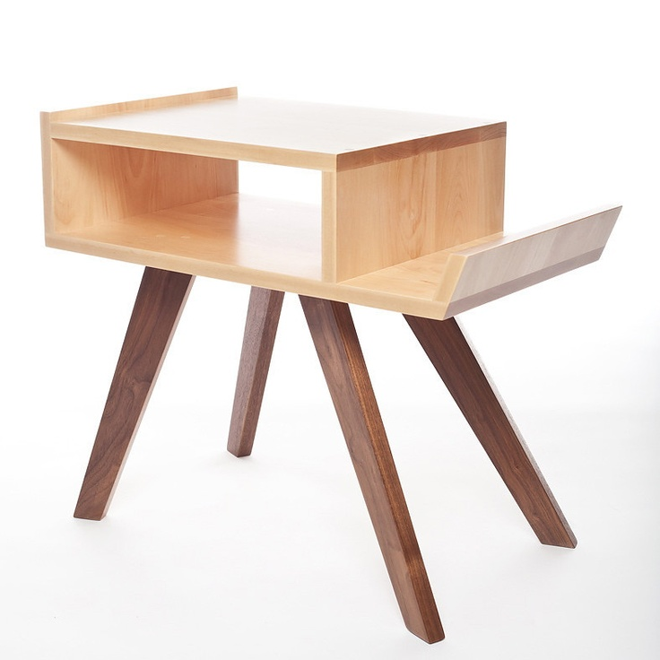 The Scout Side Table from Trunk Studio. Perfect as a bedside table or living room side table.