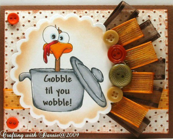 OCC Color Challenge - Thanksgiving by Darsie1 - Cards and Paper Crafts at Splitcoaststampers