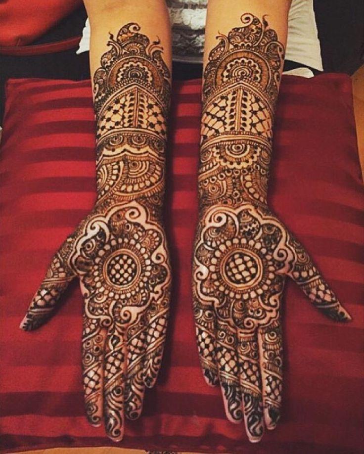 "Indian Weddings on Instagram: ""Gorgeous! Henna: @sonias_henna_art #indian_wedding_inspiration"""