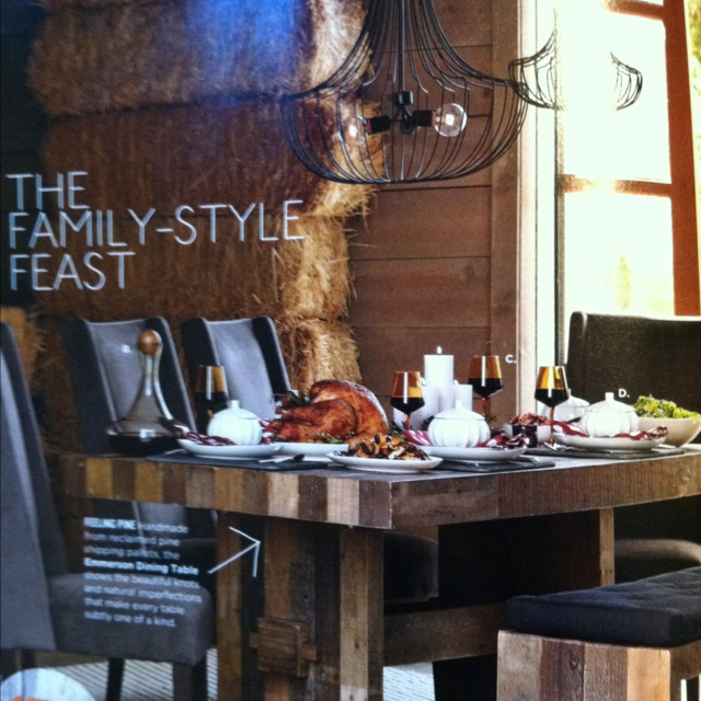 West Elm Emmerson Table, Chairs And Bench, Love!! | My Someday Home |  Pinterest | Bench, Barn And Kitchens