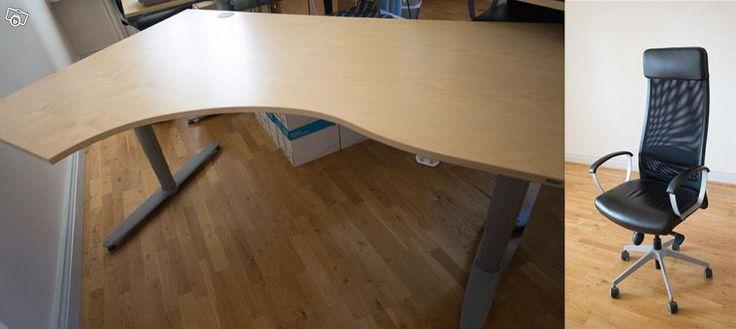 Skrivbord Kinnarps eldrivet höj och sänkbart | Dalarna