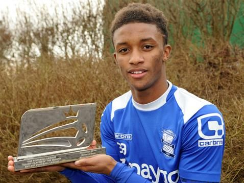 Birmingham City's Demarai Gray named The Football League's Young Player of the Month for December