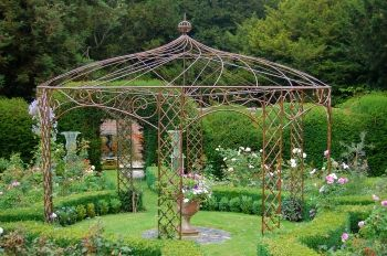 wrought iron pergola - Google Search