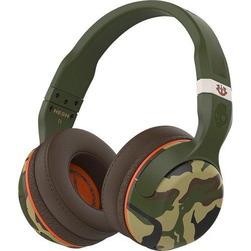 Skullcandy - Hesh 2 Wireless Over-the-Ear Headphones - Camo - Front Zoom