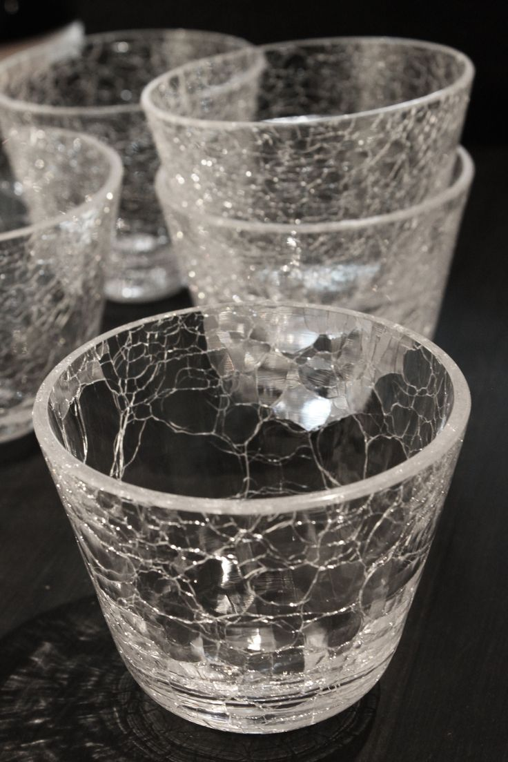 Vuoksi glass by Sini Majuri. All Vuoksi glasses are mouth blown and have a unique surface texture. / Glass of critiques pop-up exhibition at the Gallery Mafka&Alakoski during the Night of the Arts Helsinki 2017.