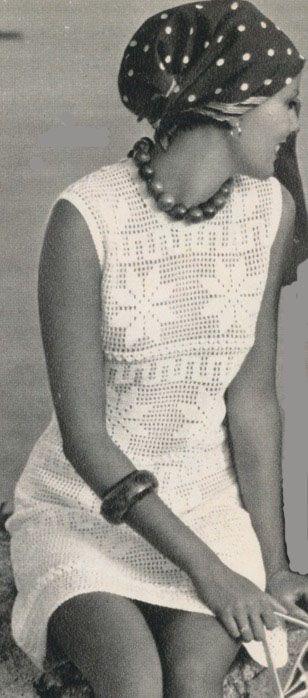 vintage white dress 1
