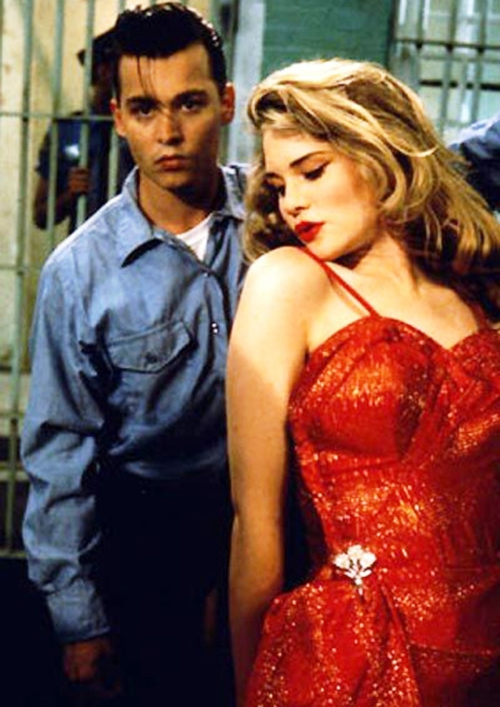 "Johnny Depp and Amy Locane - ""Cry-Baby"""