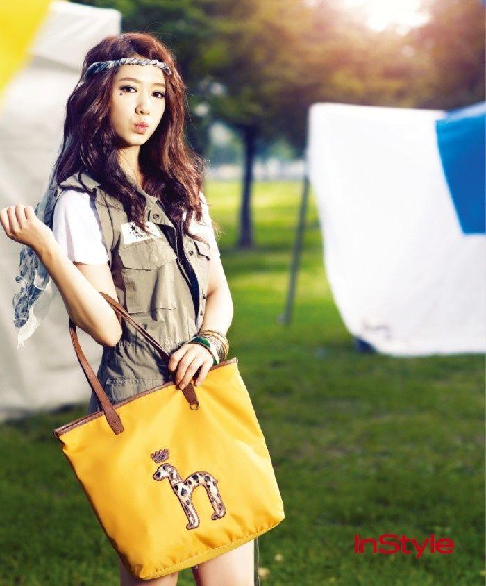 In Style Park shin Hye So beautifull