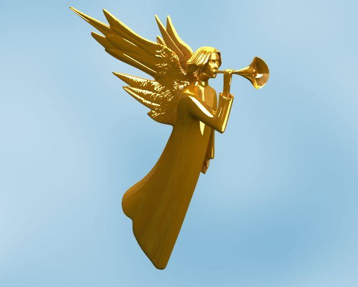 """Angel Logo """"Glas"""""""