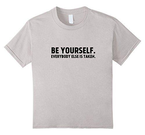 Kids Be Yourself Everyone Else Is Taken - Funny Cute T-Shirt #tshirt #tshirts #tees #Funny #Cute #gifts #giftideas #fathersday #mothersday #4july #birthday #graduation #school #college #teachers #professors #nurses #holidays #birthdays #Halloween #Christmas #Hanukkah #Valentinesday #anniversaries #everydaygiftideas #beyourself #everybodyistaken https://www.amazon.com/dp/B01N9Z1D49/ref=cm_sw_r_pi_dp_x_MJKNybD1VDSZ7