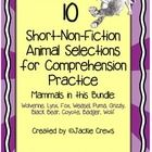 I created this animal facts packet for my students to have extra comprehension support, fluency practice, and test prep. A lot of research wen...
