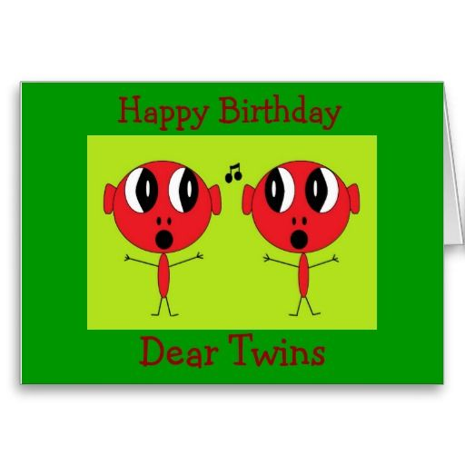 20 best Birthday Cards For Twins images on Pinterest