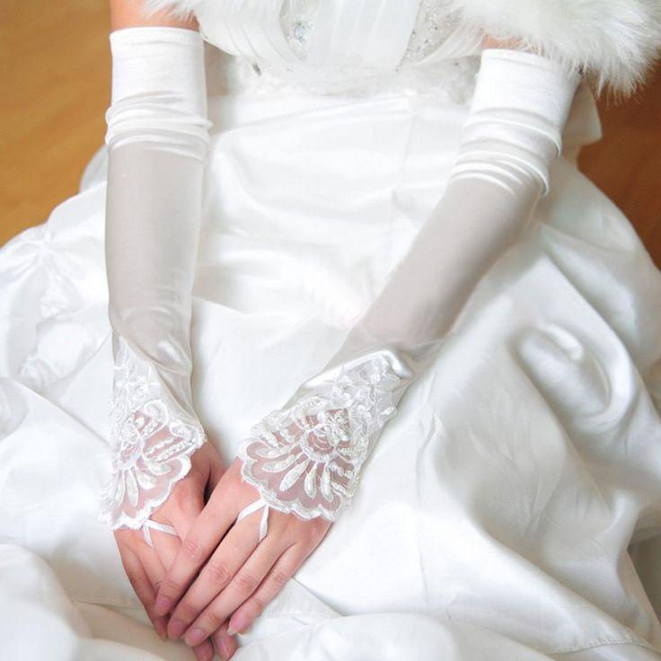 Мода пальцев опера свадебные перчатки 2016 свадебные аксессуары белые длинные перчатки. Кс 516, Ty12002