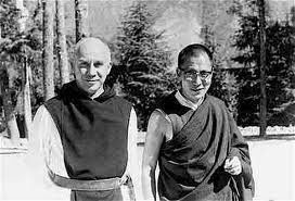 Thomas Merton - one of the most inspirational people I've ever read.  Christian Mystic, poet, monk, thinker, traveler, believer.