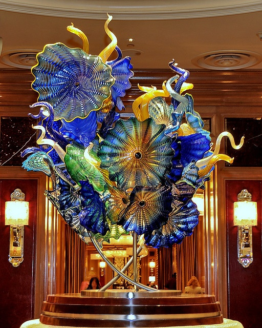 Chihuly Glass Works at the Bellagio Resort, Las Vegas by Liêm Phó Nhòm (busy with too many things), via Flickr
