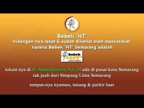 Bebek HT Semarang menjadi restoran favorit karena hidangannya lezat, letaknya dipusat kota Semarang dan tempatnya nyaman. #BebekHT #KulinerSemarang #Kuliner #IndonesianFood
