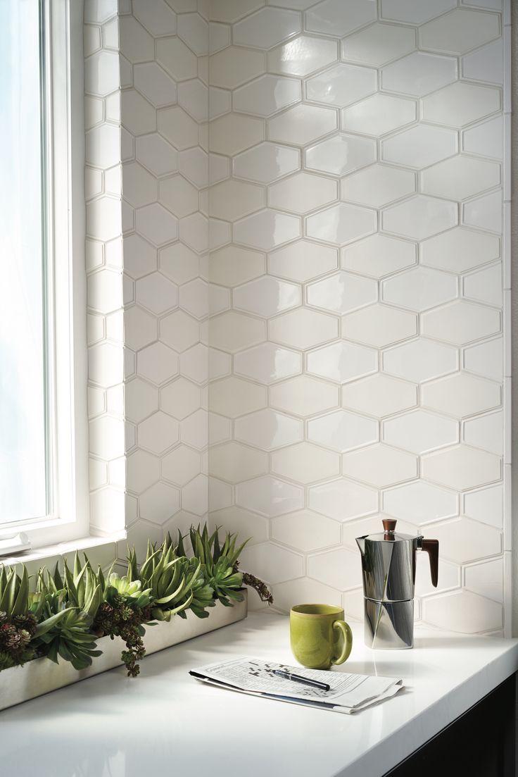 hexagon tile kitchen backsplash 25+ bästa Hexagon backsplash idéerna på Pinterest | Interiörer, Stänkskydd och Stänkskydd