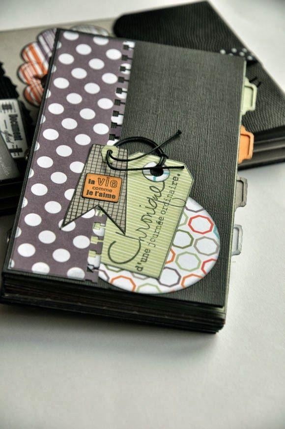 Scrap-En-Scene: Cap Aventure Finally a mini album with pictures inside!  Love it!