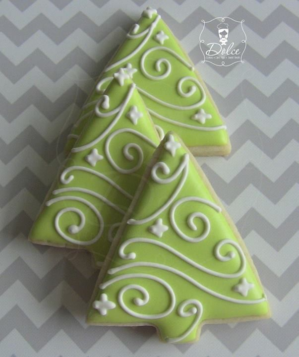 2228 best images about decorated cookies on pinterest for Bacon christmas tree decoration