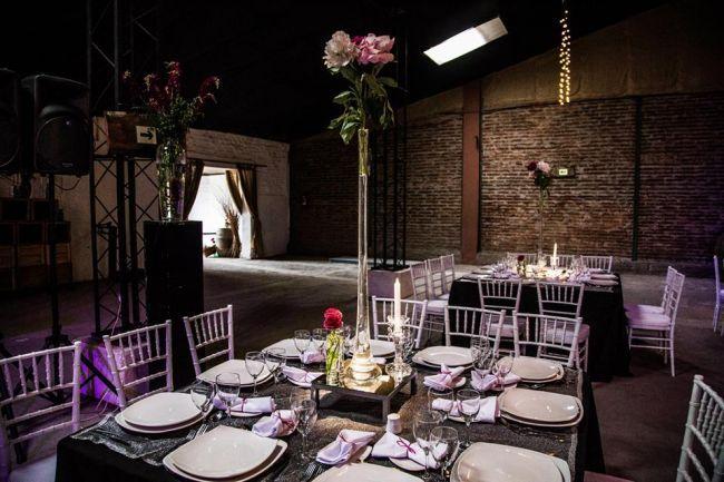 Decoración de bodas estilo industrial 2017