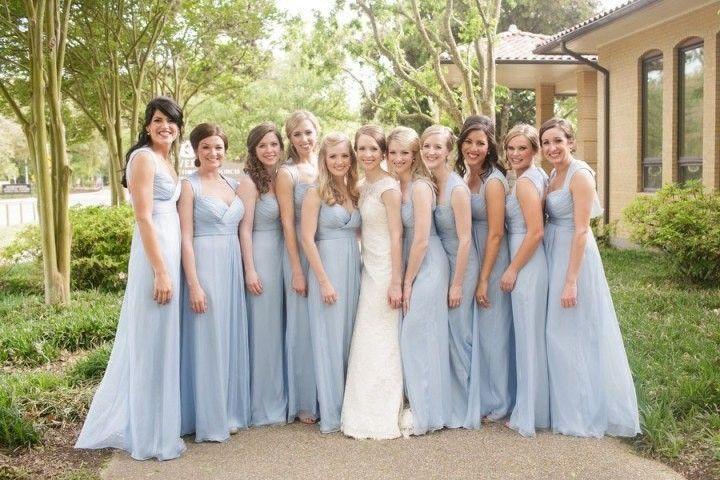 Шикарная свадьба с небесно-голубыми деталями    #wedding #bride #flowers