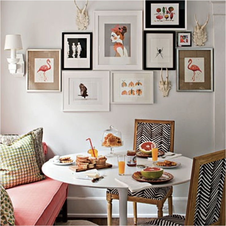 Ikea docksta dining table home ideas pinterest nooks Painting arrangements on wall