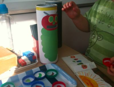 The Very Hungry Caterpillar Story Props .... Printables