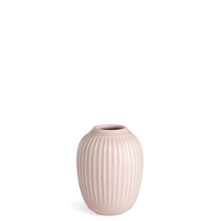 Kahler Hammershoi - Small Ceramic Vase - Rose (Dusty Pink)