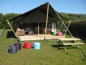 Luxury farm camping, Isles of Scilly, st mary