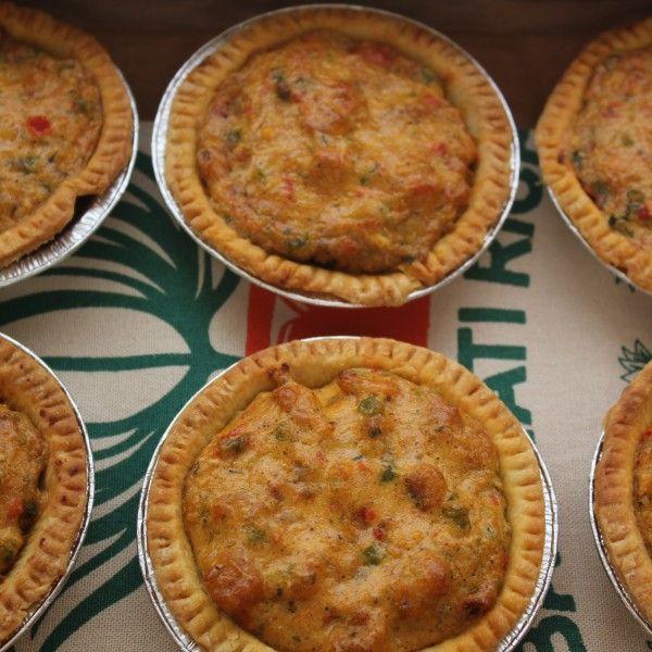 Emeril's Crawfish Pie Crawfish pies aren't always easy to find in New Orleans.