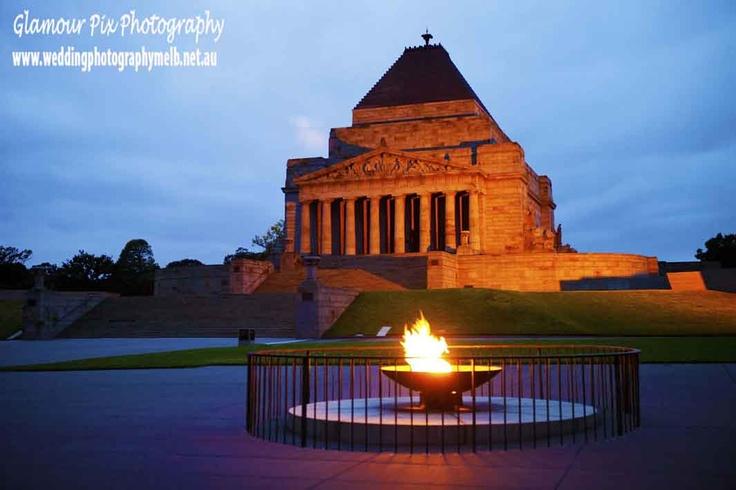 Shrine of Rememberance, Melbourne, Australia