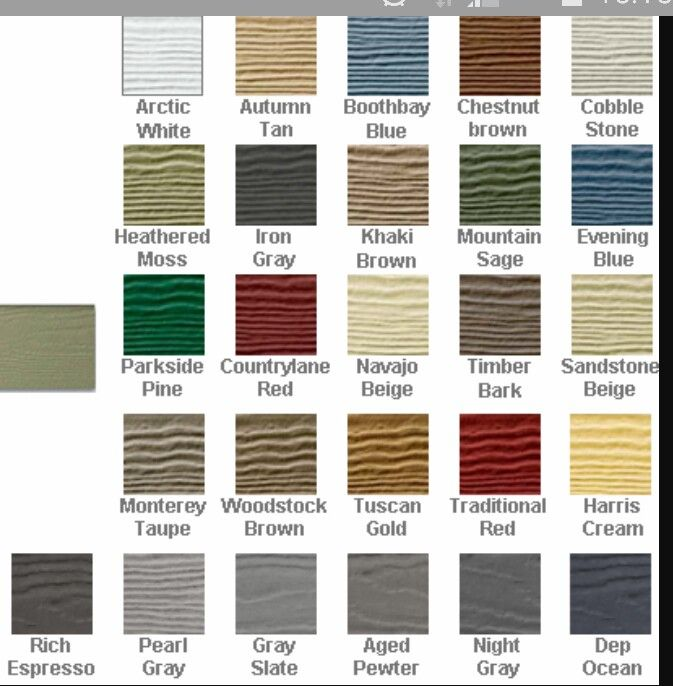 Hardie Board Color Chart Monterey Taupe Woodstock Brown