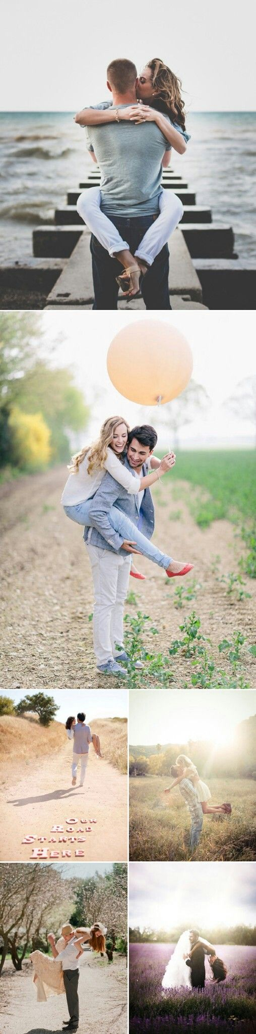 Lift and Carry | Engagement Photo Ideas