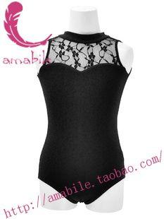 Ballet dance black turtleneck leotard ballet child coverall cl0186 US $13.98