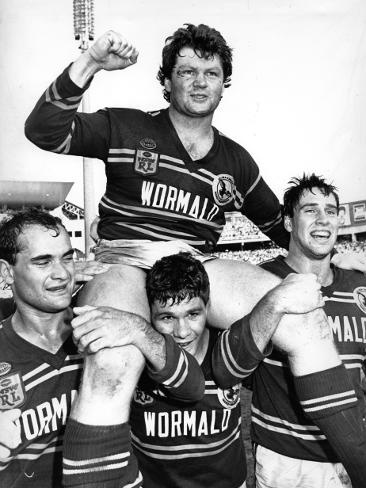 17. Paul Vautin 1979-89 (204 games) Lock. Paul an Australian Kangaroos and Queensland State of Origin representative lock or second-row forward, Vautin played club football in Brisbane with Wests before moving to Sydney and playing with Manly-Warringah, with whom he won the 1987 premiership as captain. After playing, Vautin became a sports commentator for Channel 9. Later, during Super League war, he was hired to coach Queensland, taking the Maroons to a 3–0 whitewash of New South Wales in…