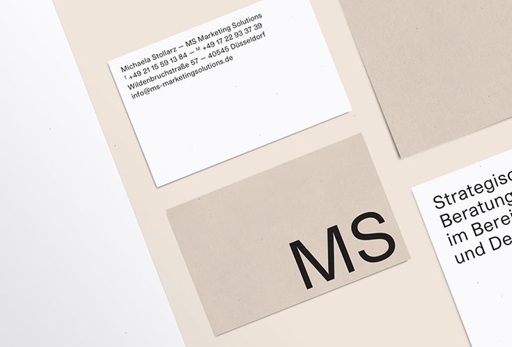 Picture of 1 designed by Studio Picnic for the project MS Marketing Solutions. Published on the Visual Journal in date 28 June 2016