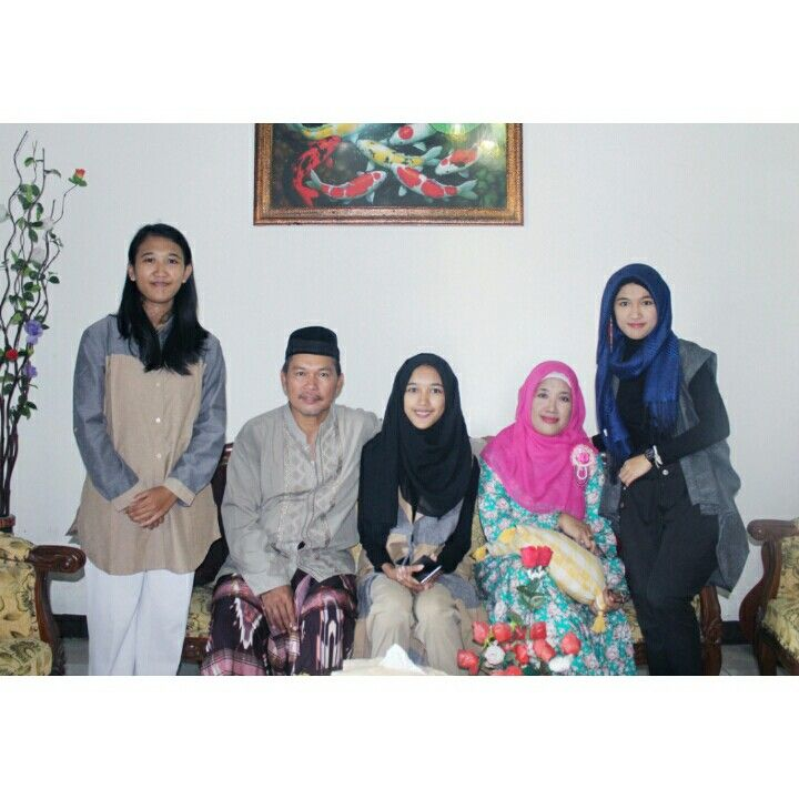 Idul fitri with family