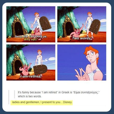 When they realised exactly how clever this line was. | 31 Times Tumblr Had Serious Questions About Disney