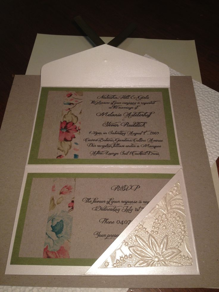 Get the look: Sandstone A6 folio pouch with Thyme green card, Botany paper & vintage bouquet-spring patterned paper.