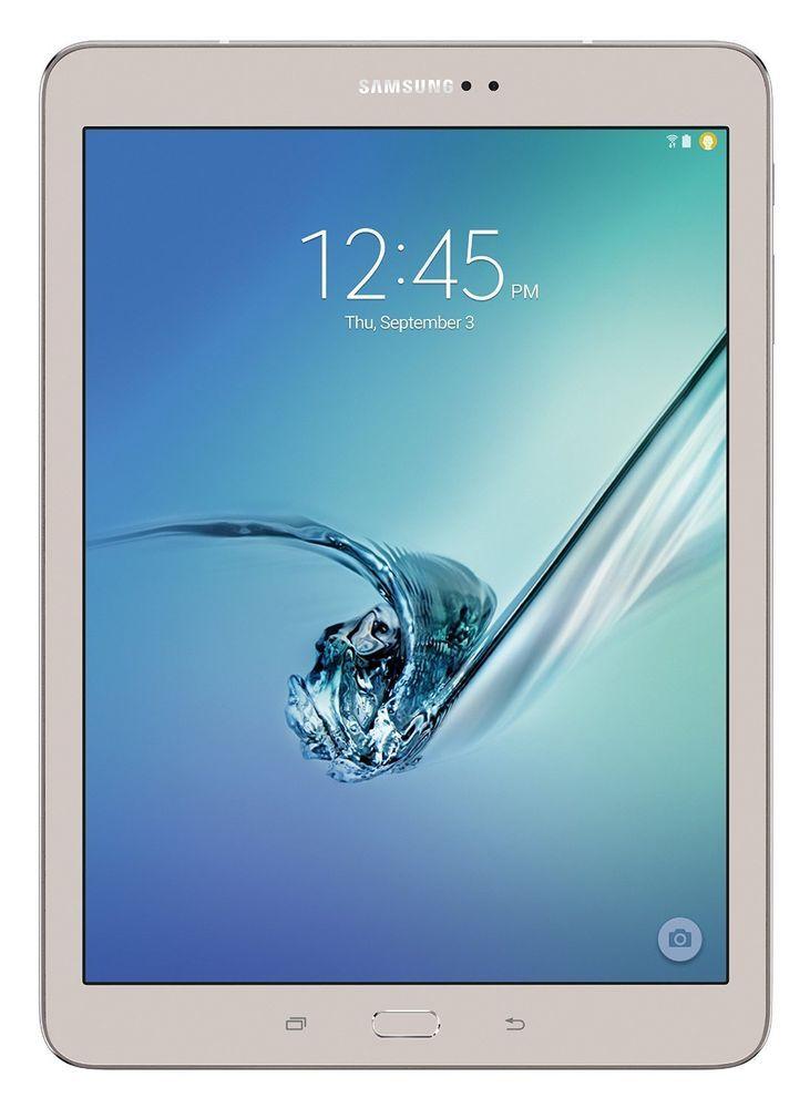 Samsung Galaxy Tab S2 SM-T810 32GB, Wi-Fi, 9.7in - Gold #Samsung