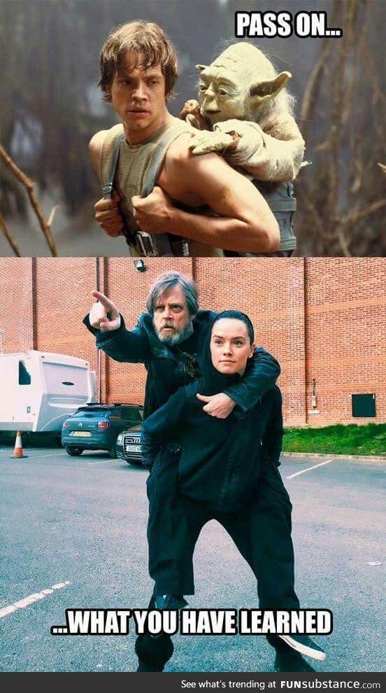 Same Jedi training